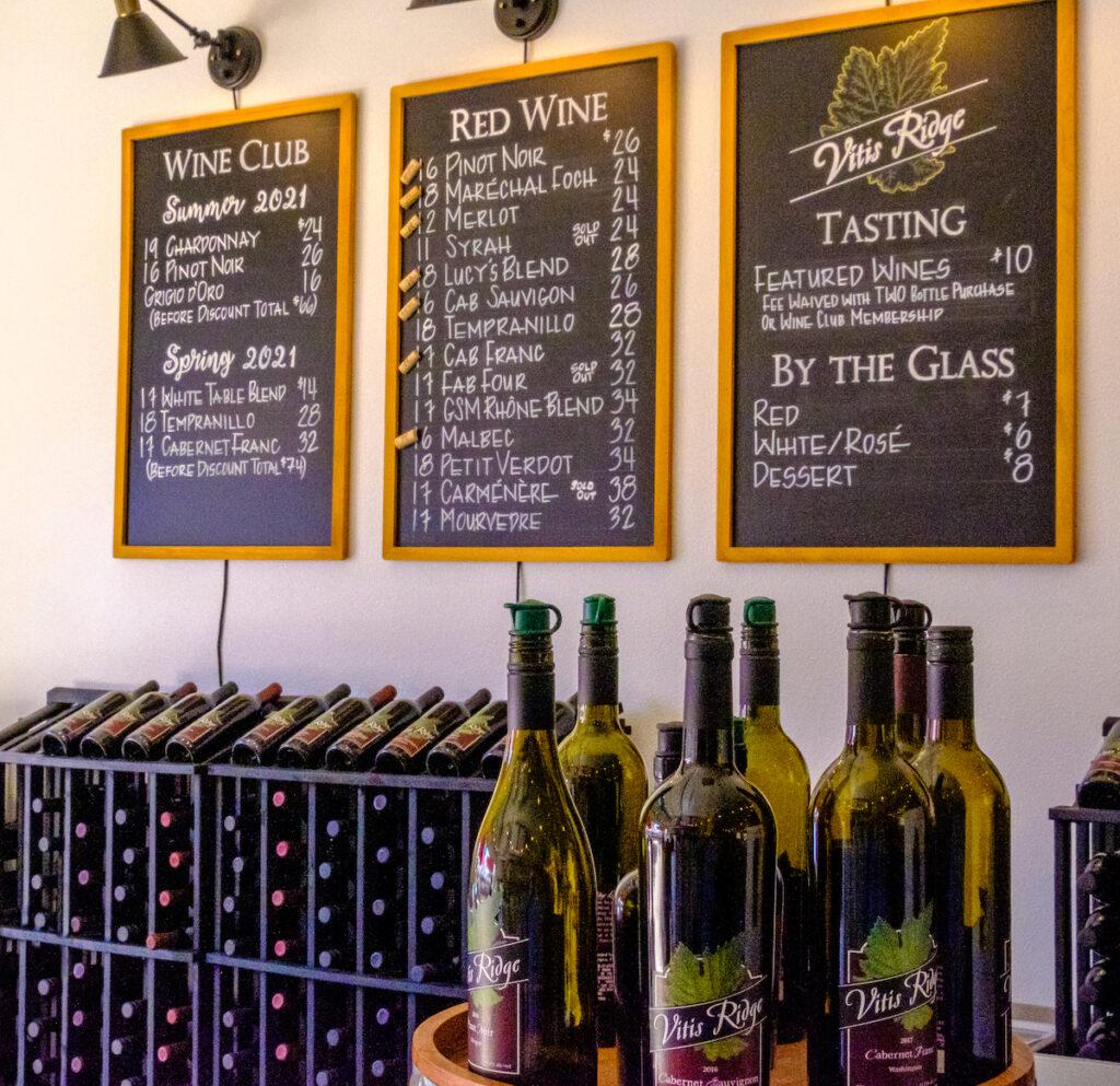 Vitis Ridge Winery.