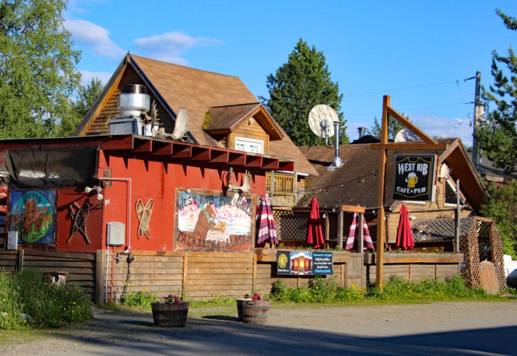 West Rib Pub Bar and Grill, Talkeetna, Alaska