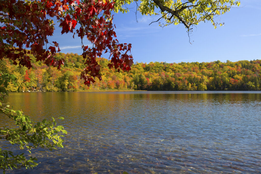 Russell Pond; Woodstock, New Hampshire