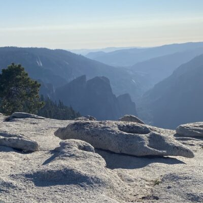 Yosemite National Park View from Sentinel Dome