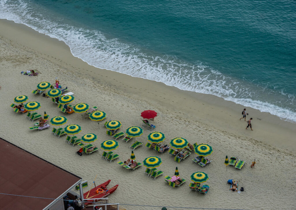 One of the beaches in Tropea Italy.