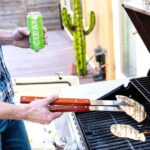CLEAN Cause energy drink while grilling
