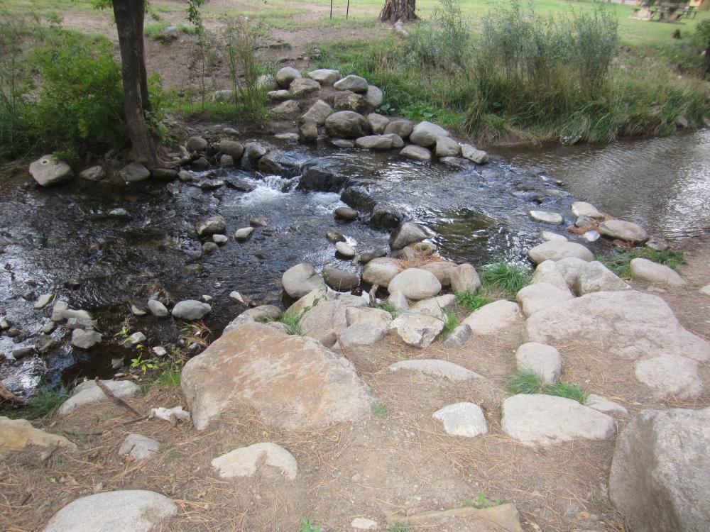 Ruidoso river trail, New Mexico
