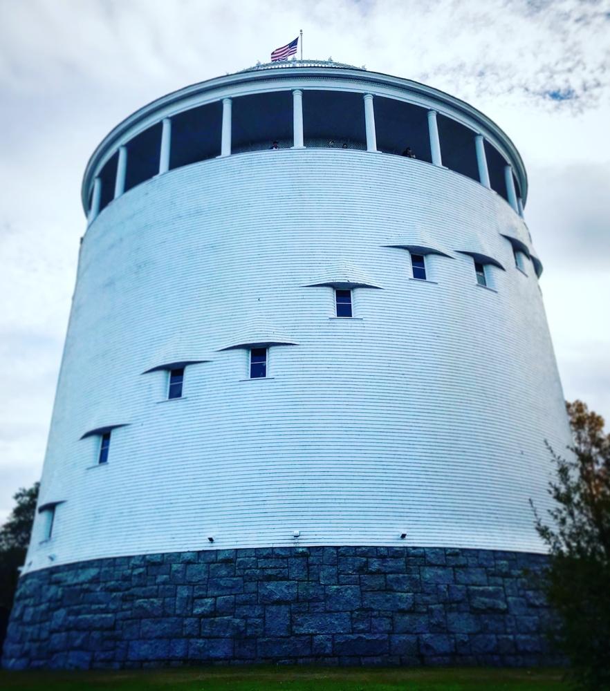 Bangor Water's Thomas Hill Standpipe, Maine.