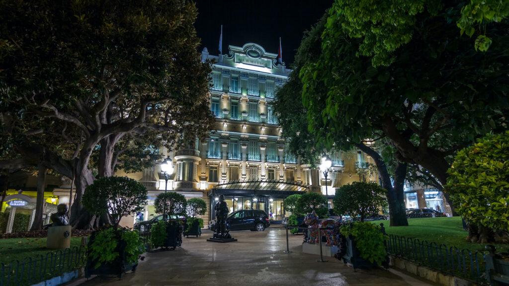 Hotel Hermitage, Monte Carlo, Monaco.