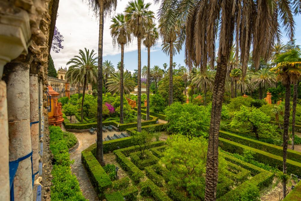 Real Alcázar of Seville gardens