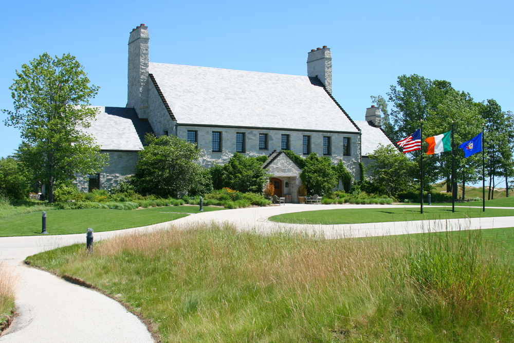 Whistling Straits Clubhouse, home of the 2021 Ryder Cup