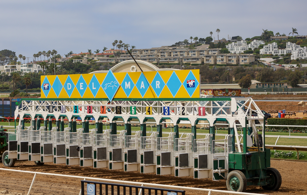 Del Mar Race Track, home of the 2021 Breeders' Cup Classic
