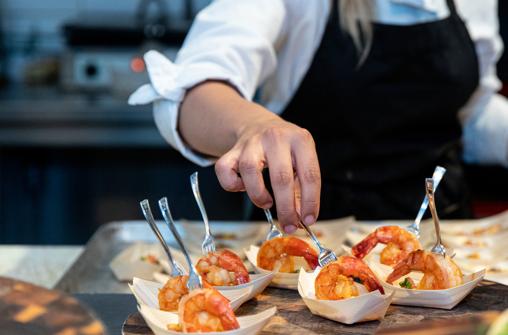 samples of shrimp