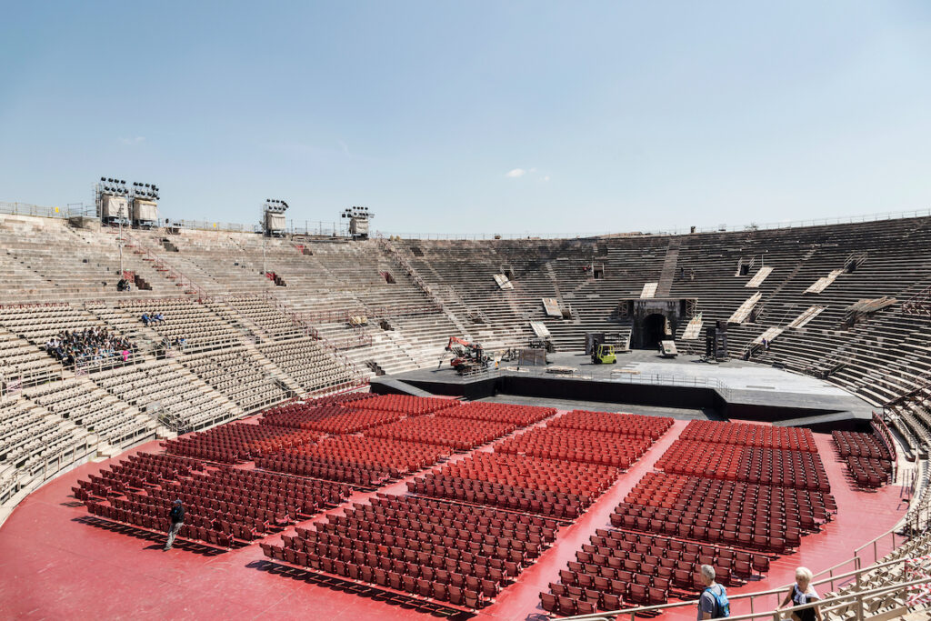The Arena, Verona, Italy.