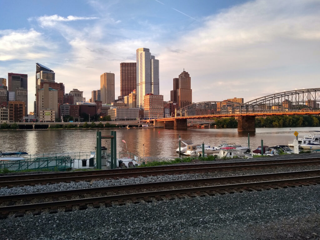 South side in Pittsburgh, Pennsylvania.