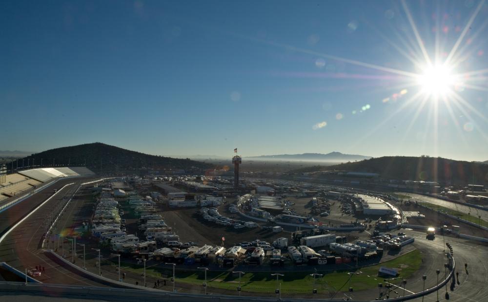 NASCAR Phoenix Raceway in Avondale, AZ