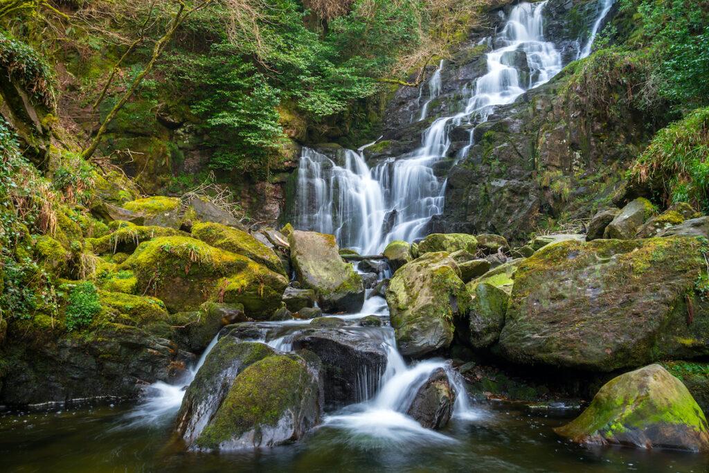 Torc Waterfall in Killarney National Park, Ireland Patryk.