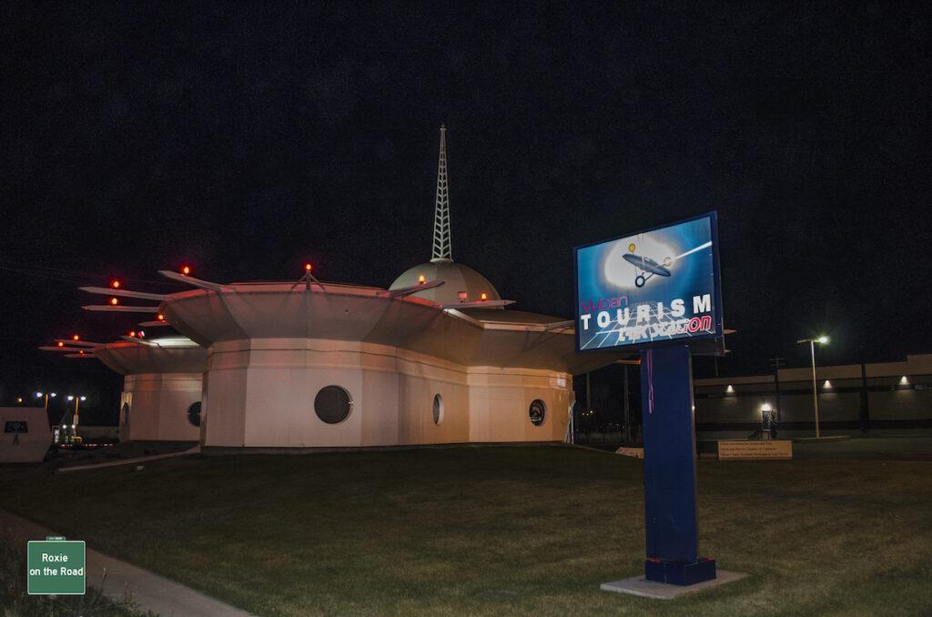 Vulcan Tourism Trek Station, Vulcan.