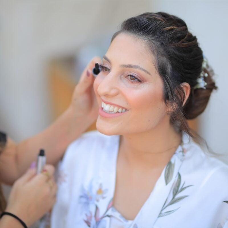 woman, bride, smile
