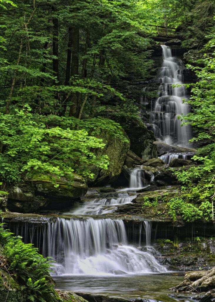 Waterfall at Ricketts Glen