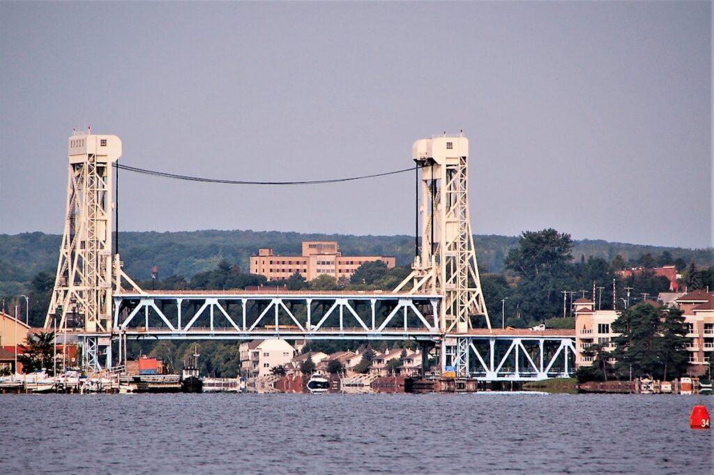 Portage Lake Lift Bridge on the Keweenaw Waterway