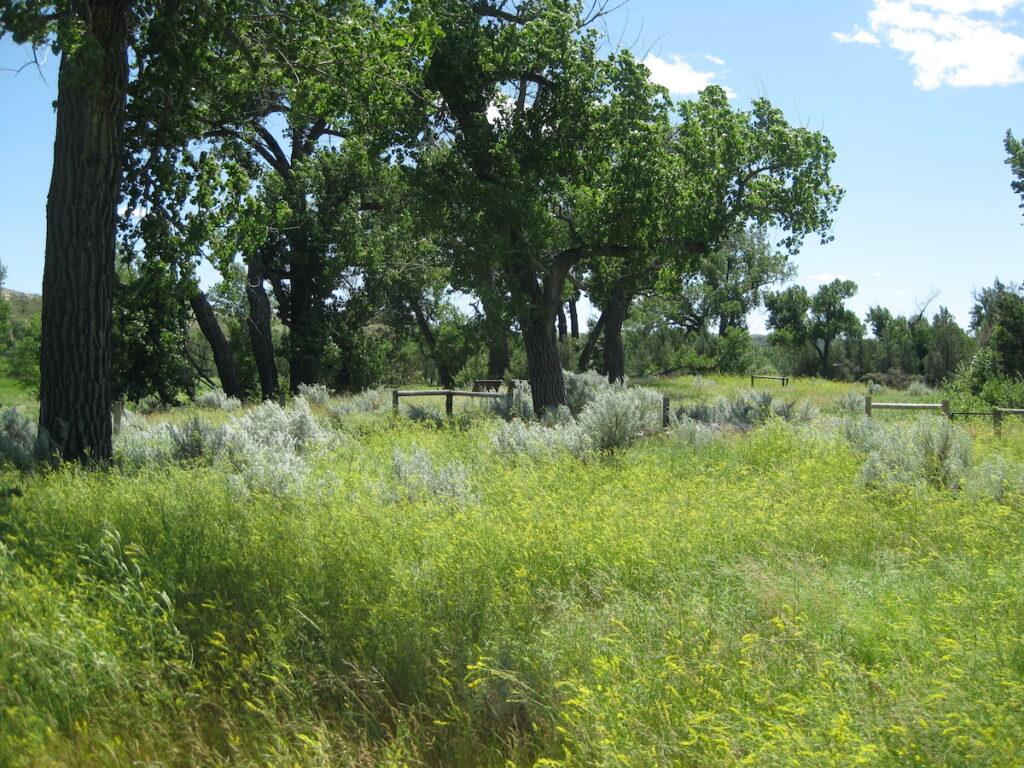 Elkorn Ranch historic site