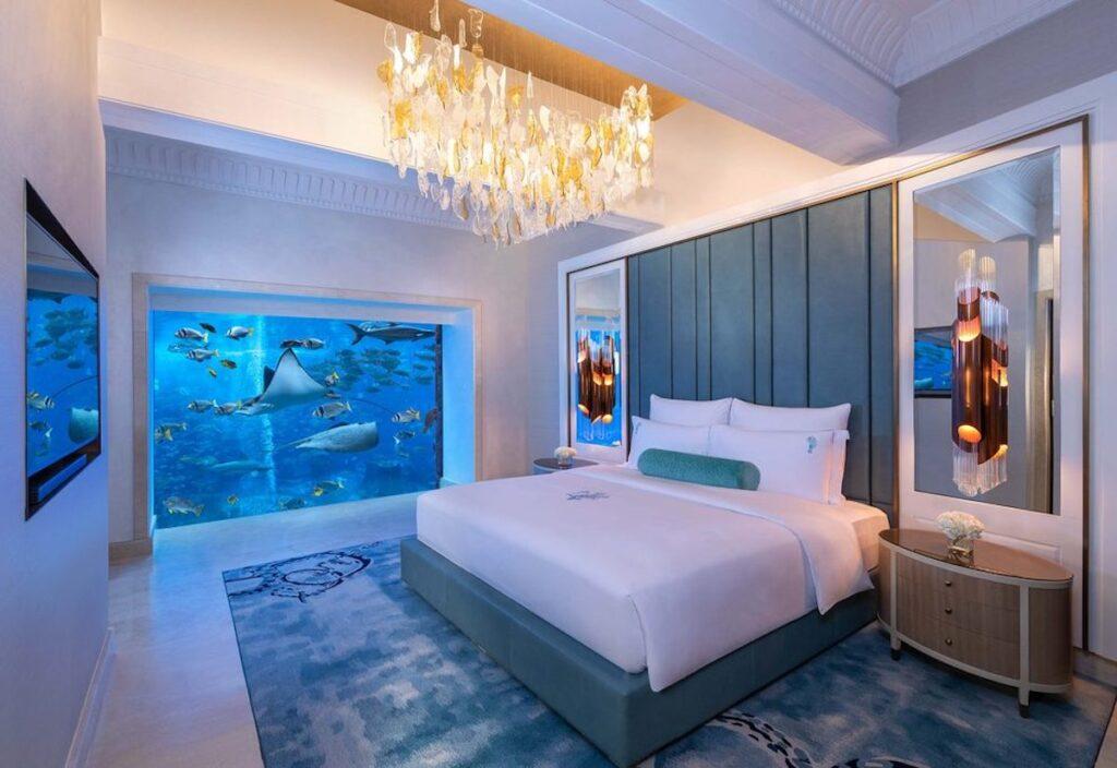 Underwater Suite Atlantis The Palm, Dubai.