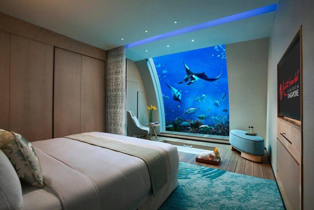 Ocean Suites At Resorts World Sentosa, Singapore.