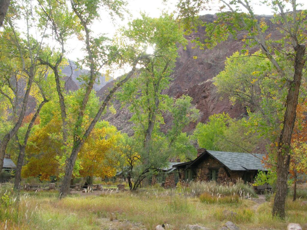 Phantom Ranch at Grand Canyon National Park.