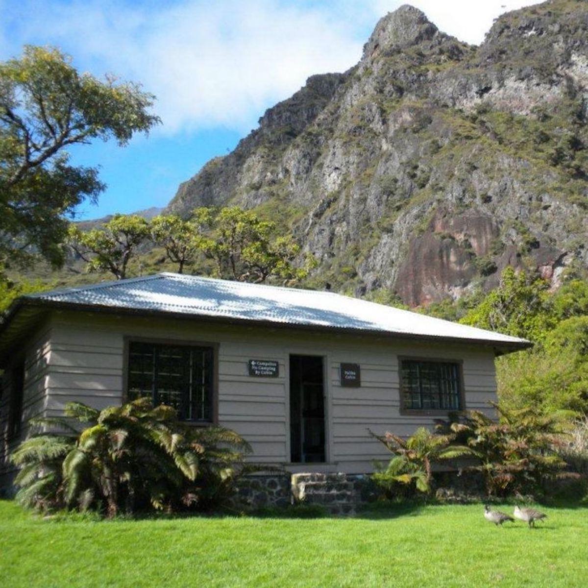 Palikū Cabin, Haleakala National Park.