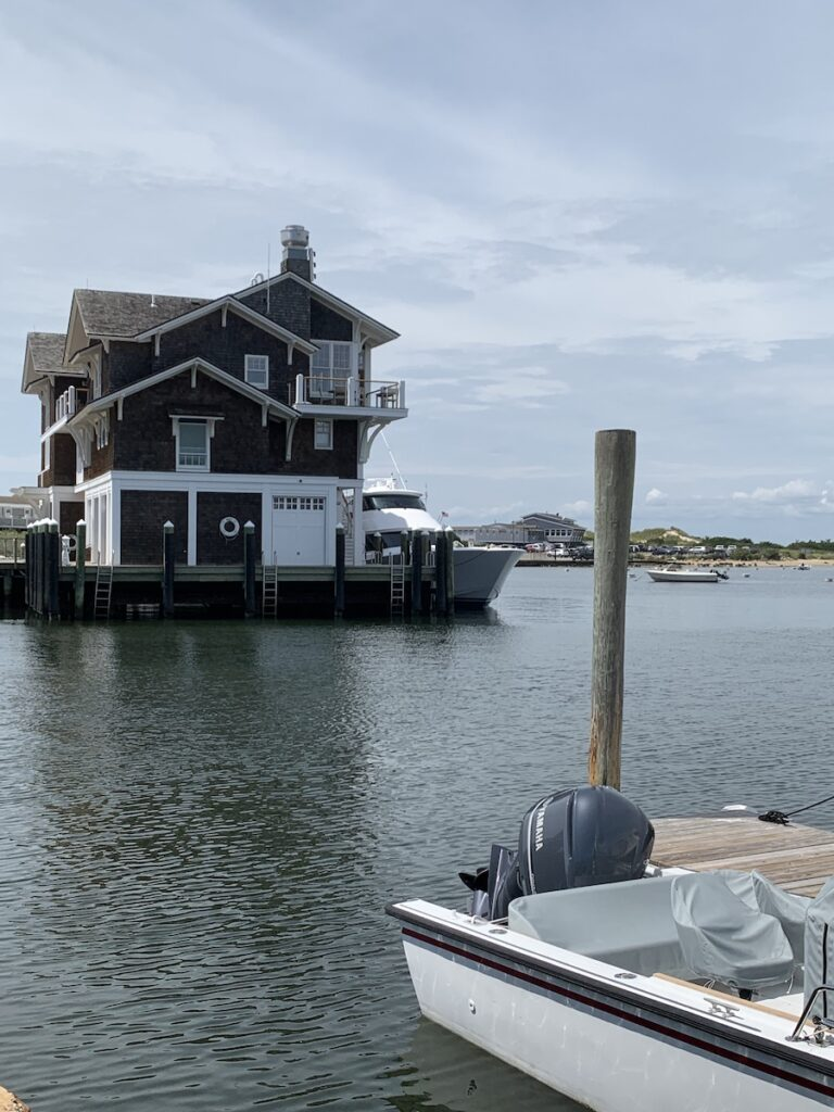 Watch Hill Yacht Club nearly Westerly, Rhode Island.
