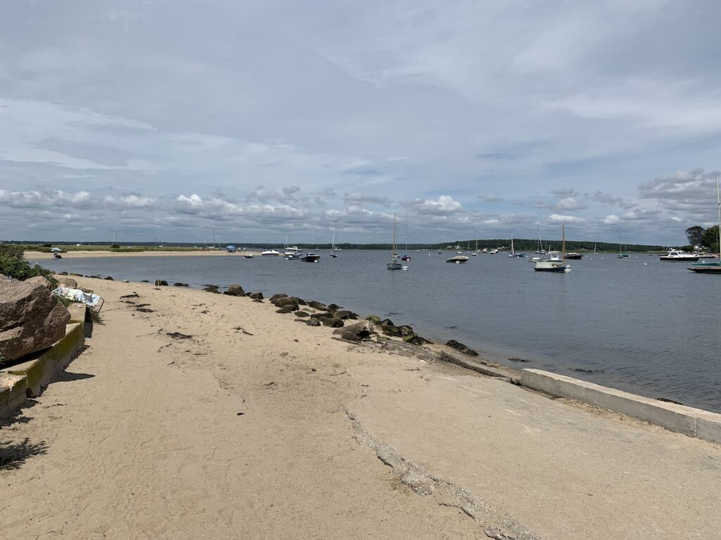 Napatree Point Conservation Area, Westerly, Rhode Island.
