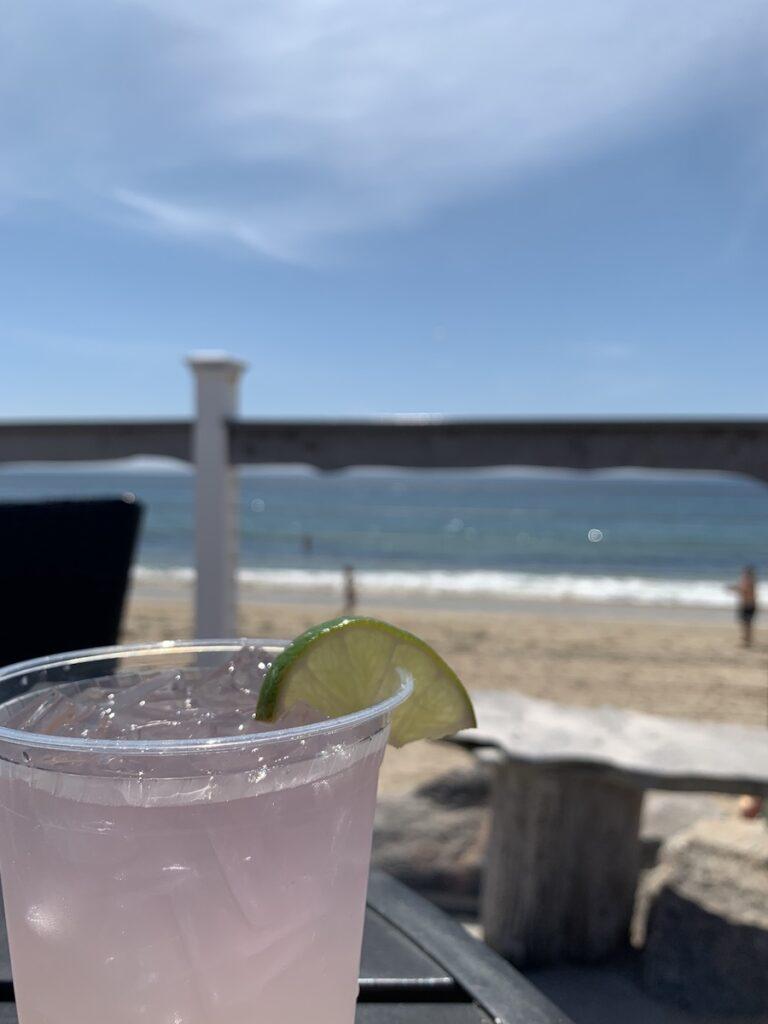 The Andrea Seaside Restaurant and Beach Bar, Westerly, Rhode Island.