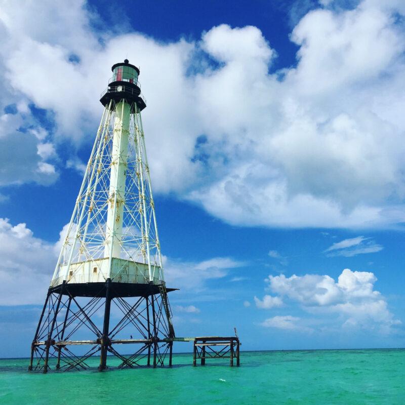 Alligator Reef Lighthouse; Florida