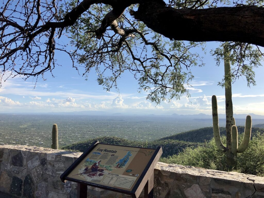 Babad Do'ag, or Frog Mountain and the Santa Catalina Mountains