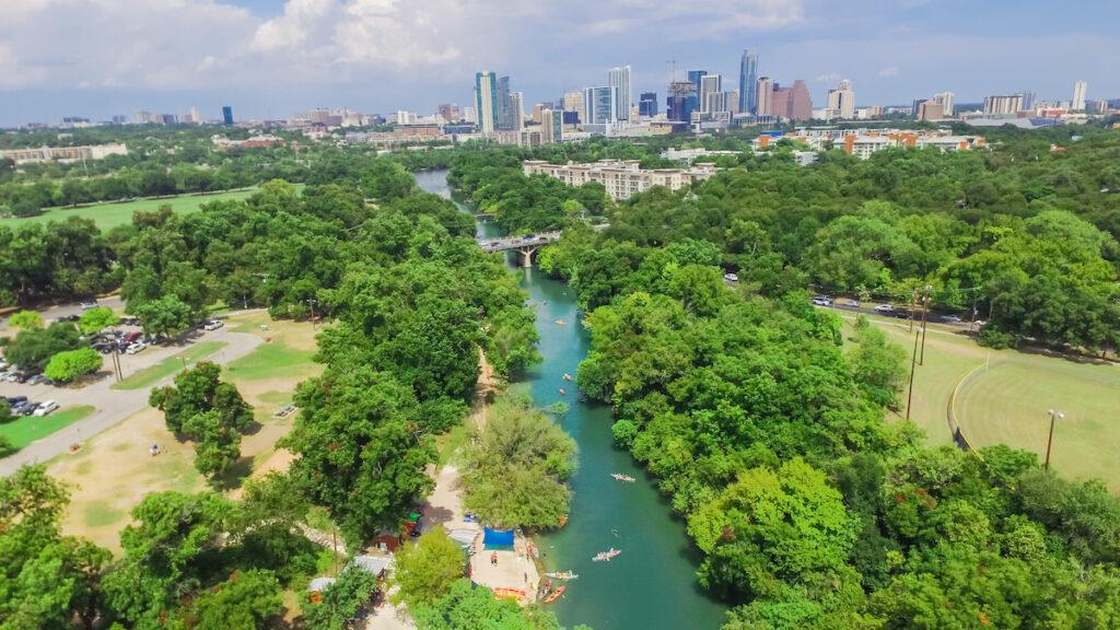 Barton Creek near Austin, Texas