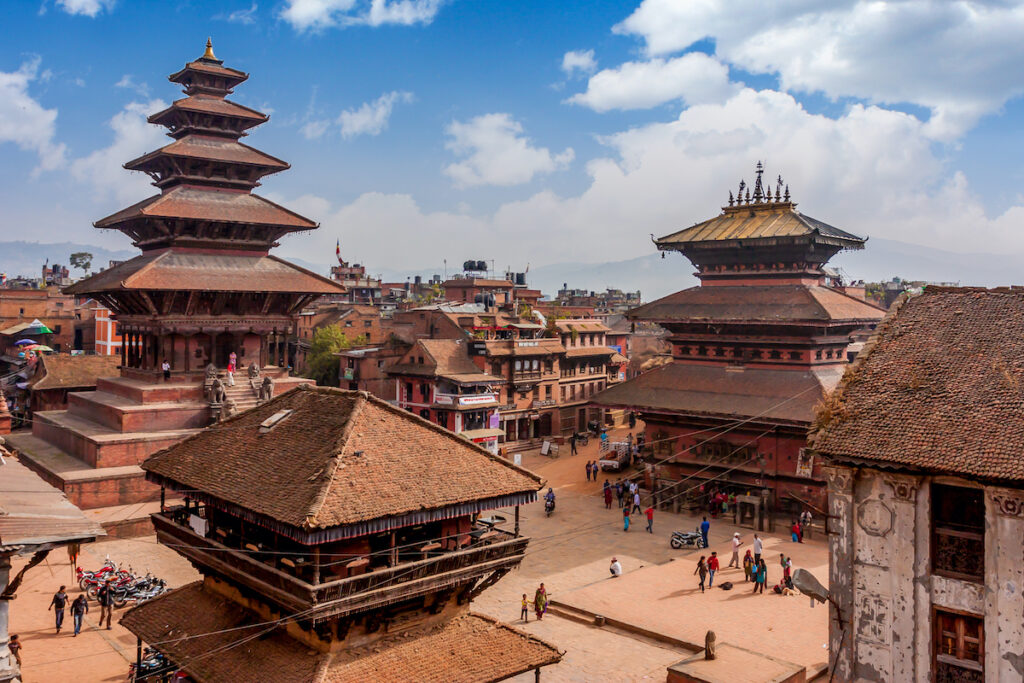 Bhaktapur near Kathmandu, Nepal