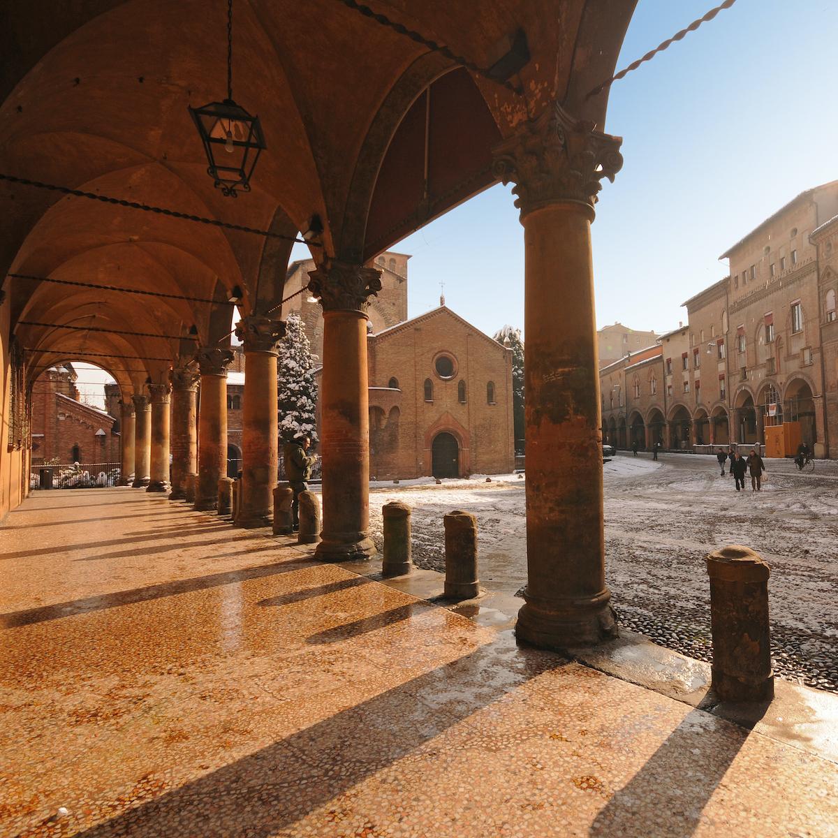 Porticoes of Bologna, Italy