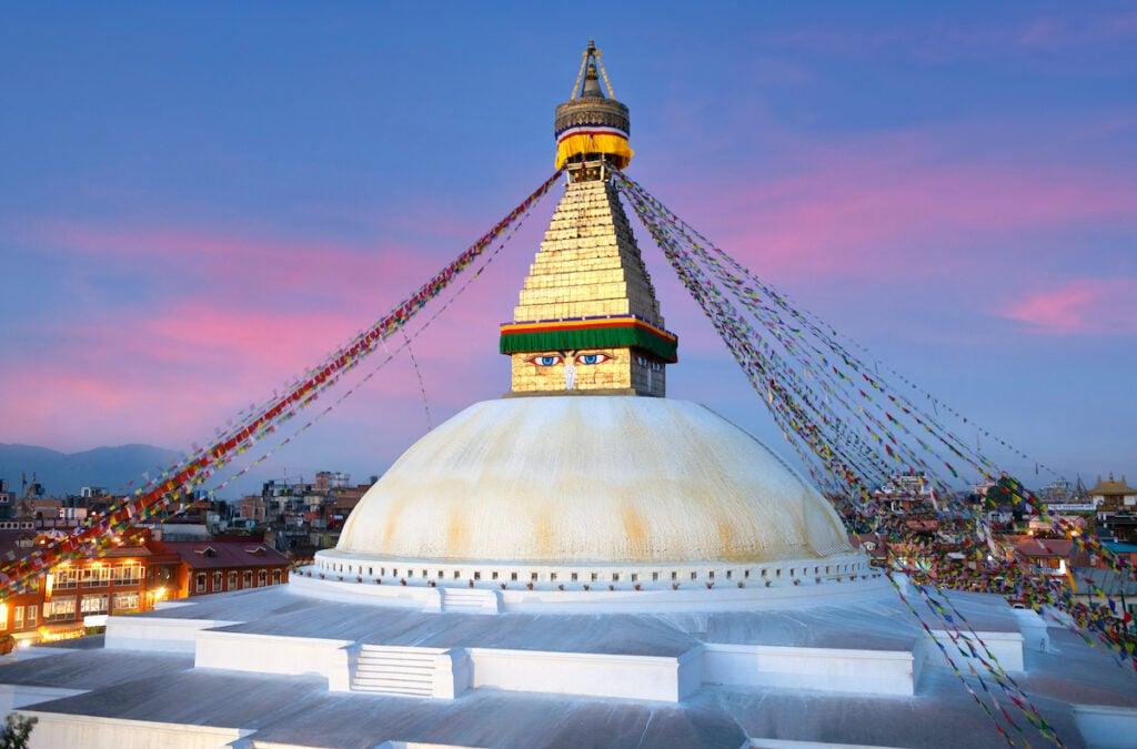 Boudhanath (Boudha Stupa); Kathmandu, Nepal
