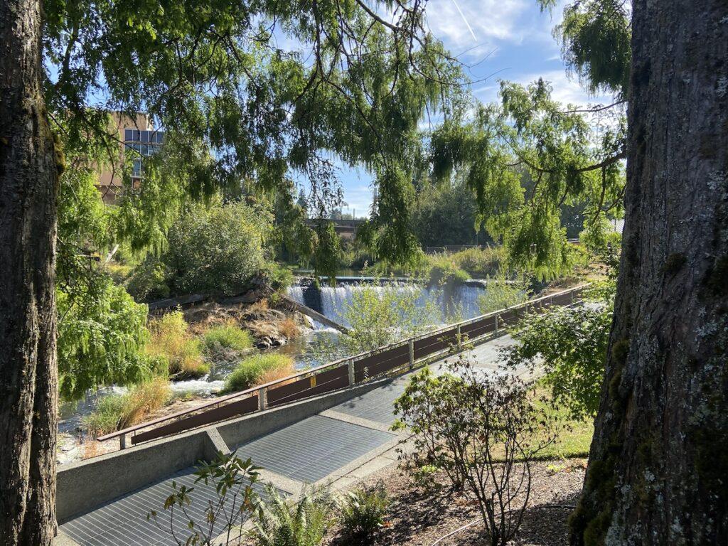 Brewery Park at Tumwater Falls; Washington