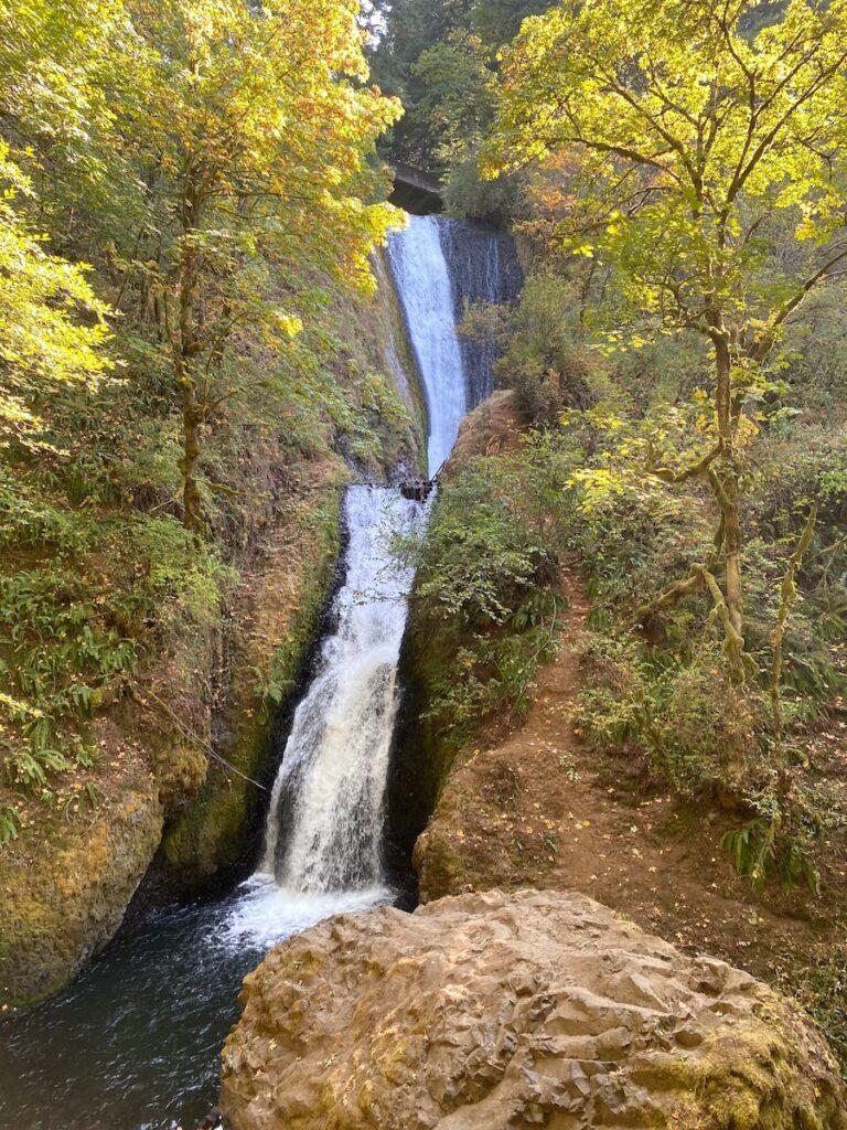Bridal Veil Falls; Columbia River Gorge