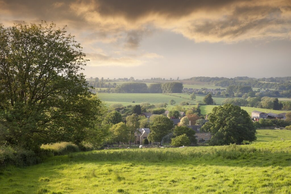 Broad Campden in the Cotswolds, England