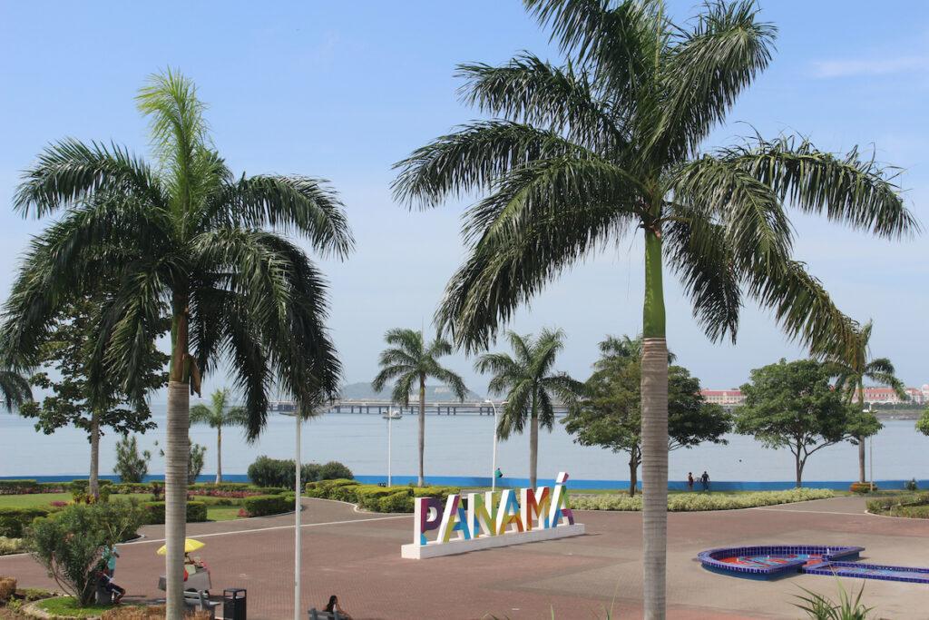 Cinta Costera of Panama City, Panama