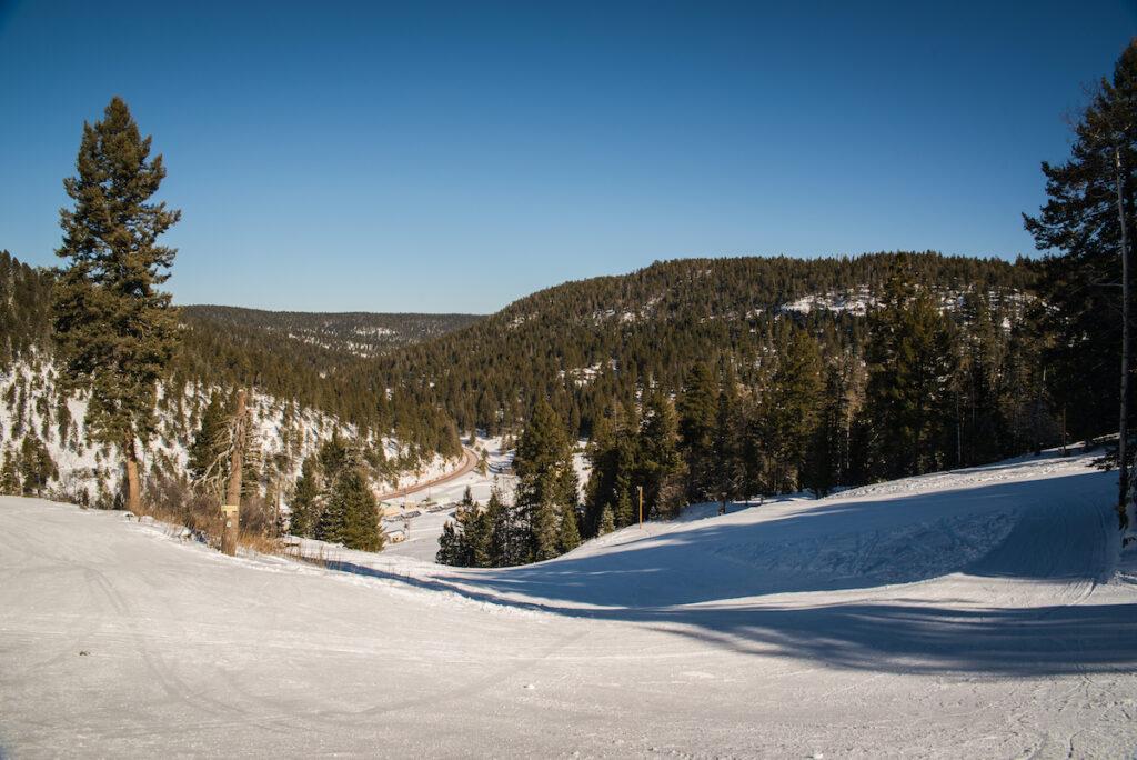 Ski run near Cloudcroft, New Mexico