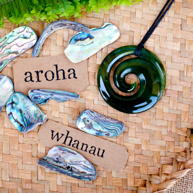 maori words for love and respect (aroha) and family (whanau)