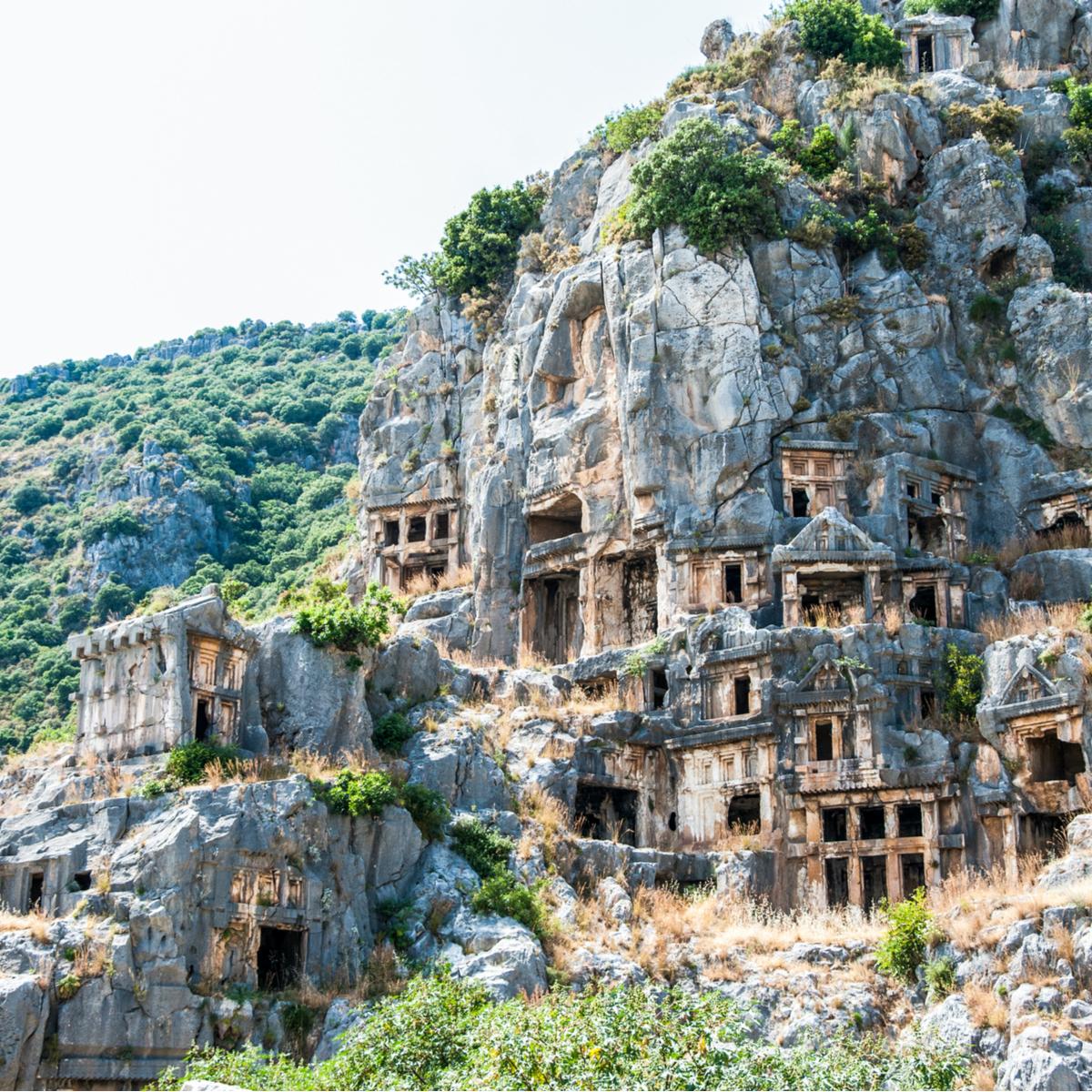Myra Necropolis, Demre