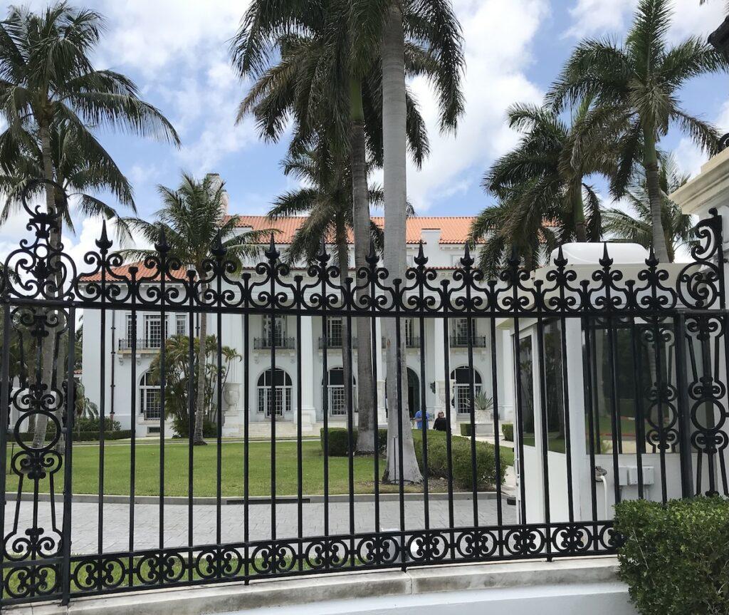 Flagler Museum in Singer Island, Florida.