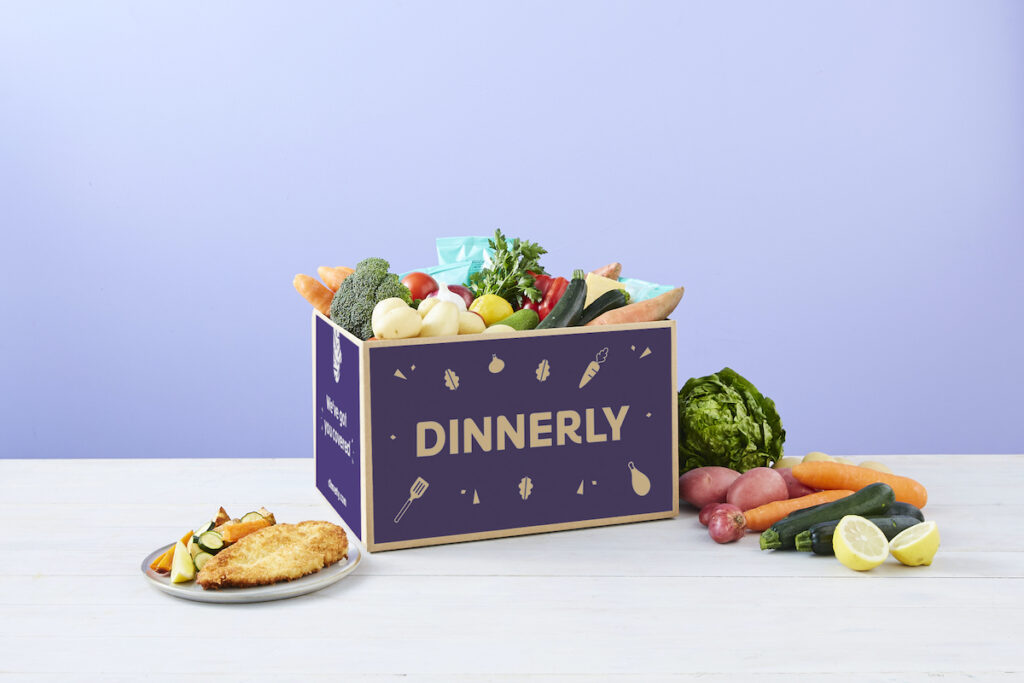 Dinnerly box and food
