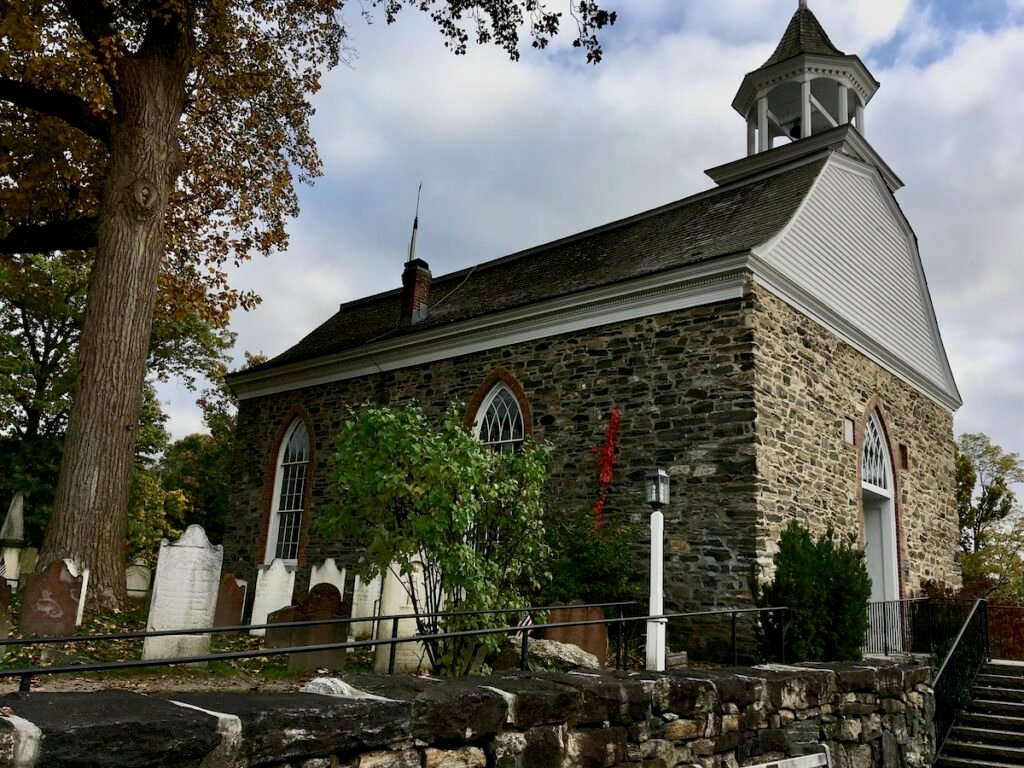 The Dutch Reformed Church, Sleepy Hollow, New York.