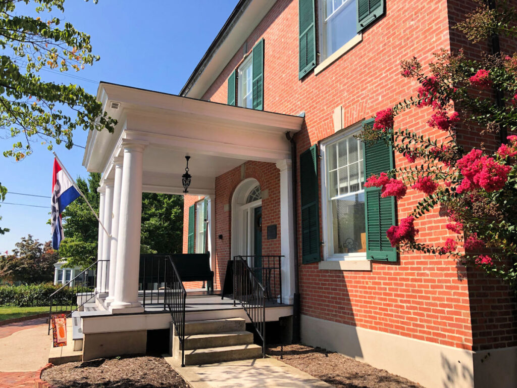 Entrance to the Woodrow Wilson Presidential Museum