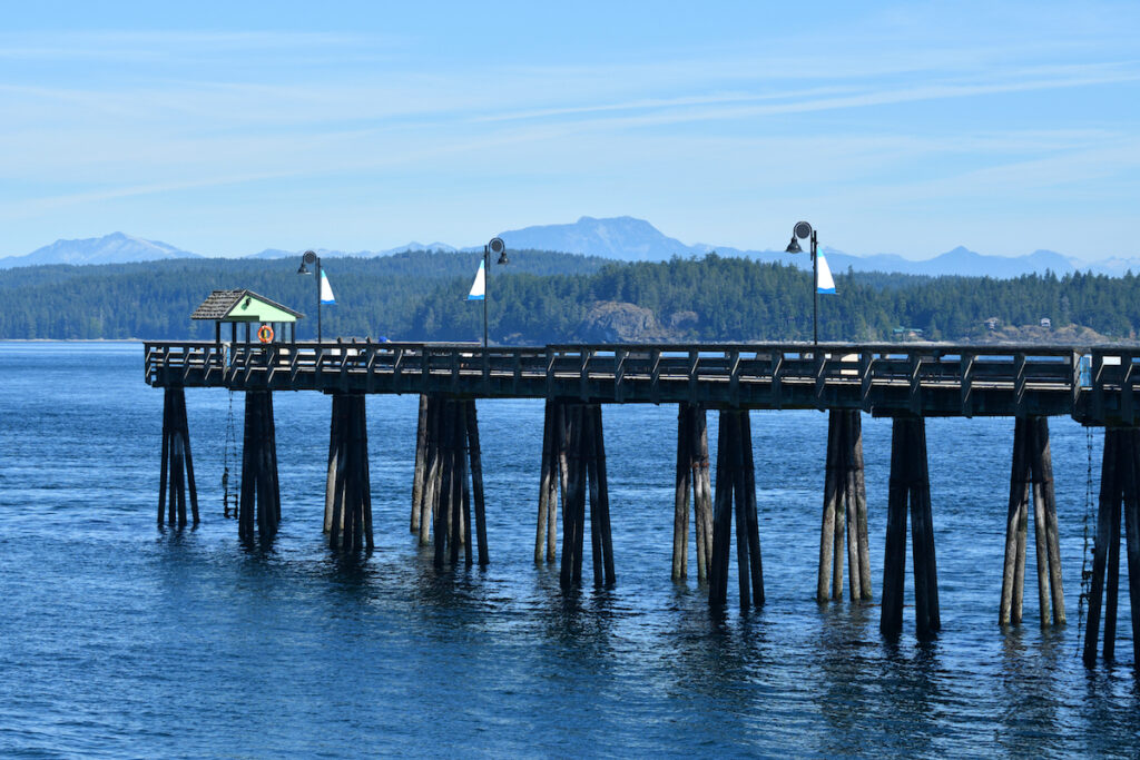 Discovery Fishing Pier in Campbell River, British Columbia