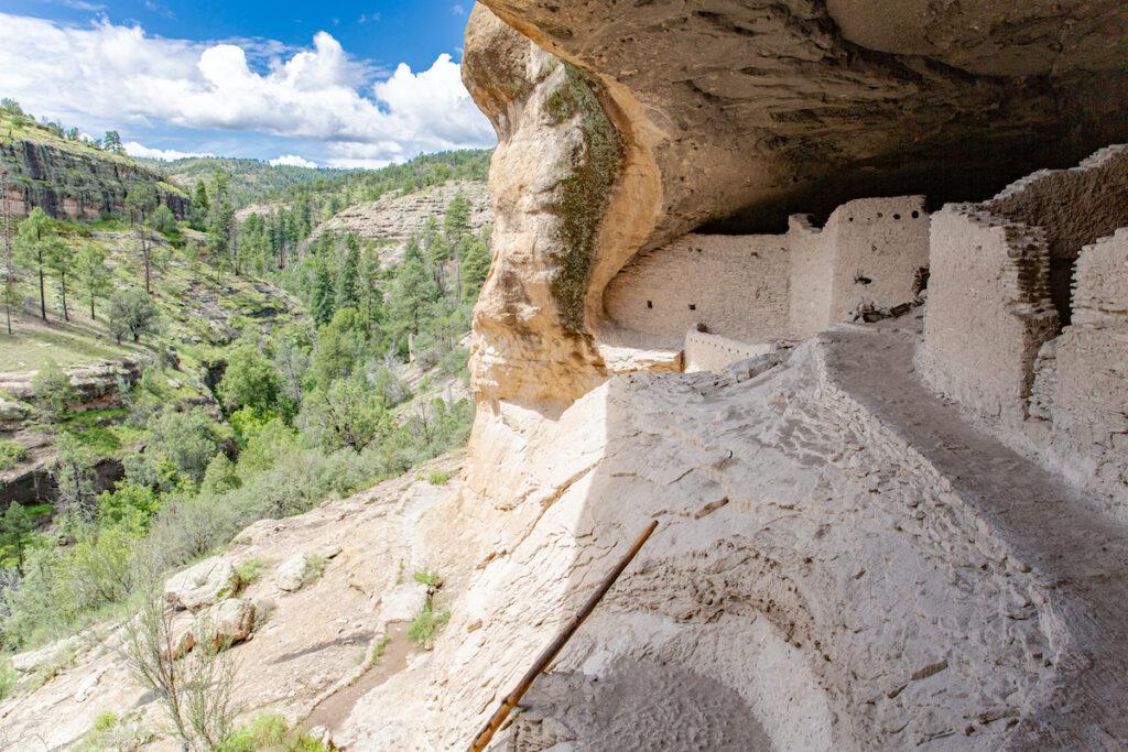 Gila Cliff Dwellings near Silver City, New Mexico