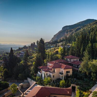 View from Euphoria Retreat in Greece