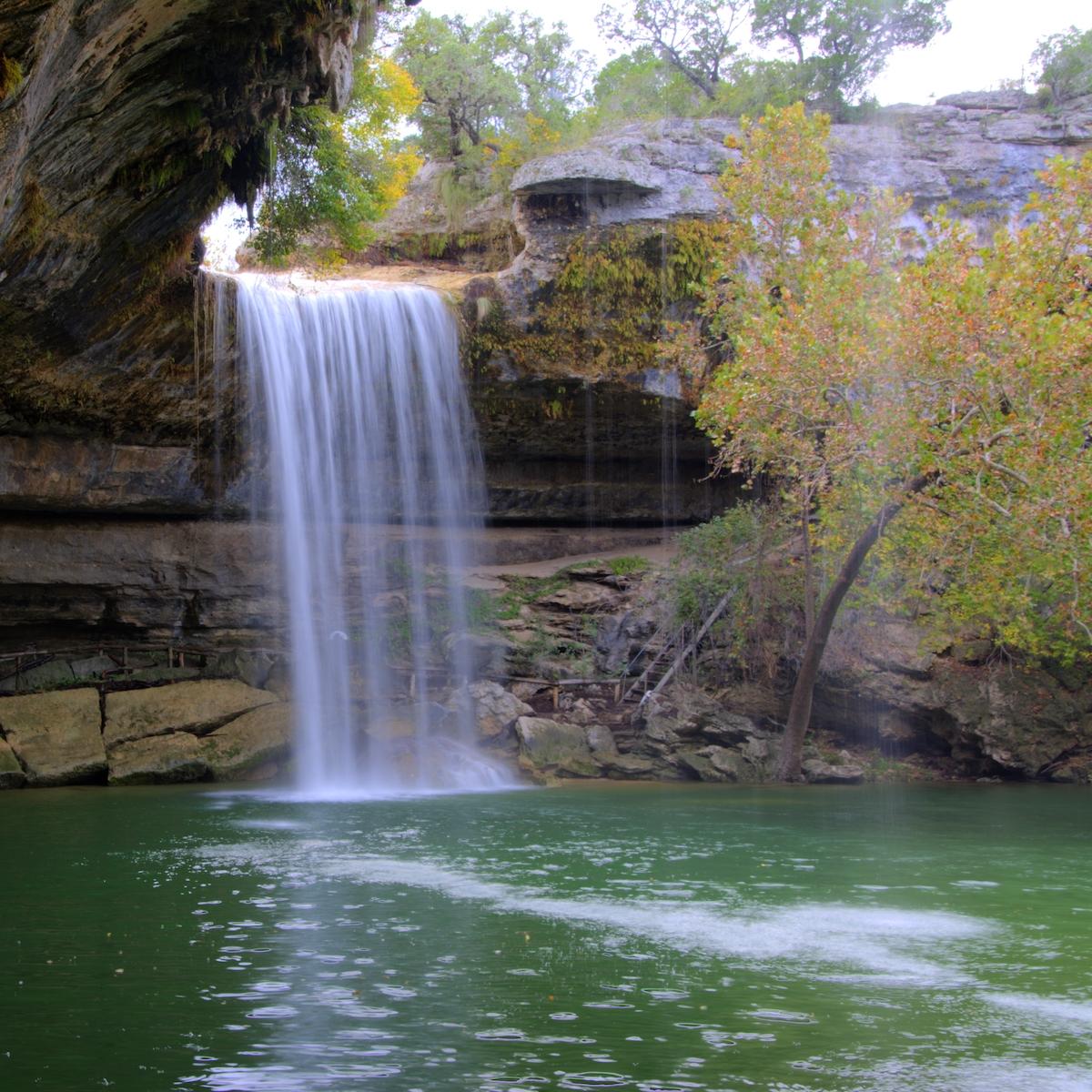 Hamilton Pool Preserve; Dripping Springs, Texas